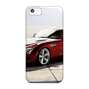 MattDFamer Scratch-free Phone Case For Iphone 5c- Retail Packaging - Red Bmw Z4 Zagato