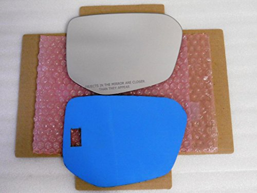 New Replacement Mirror Glass with FULL SIZE ADHESIVE for Honda Civic Passenger Side View Right RH