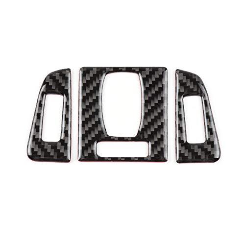 CARFIB Compatible AC Vents Decal Sticker for BMW Accessories Parts Carbon Fiber Air Condition Covers Interior Decorations 3 4 Series GT F30 G20 F32 320i 328i 335i 428i 430i 435i 440i xDrive Women Men