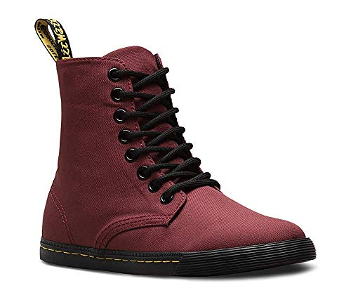 m 10 Martens Uk 8 Sheridan Boot F Kid Red Unisex Youth Little Junior child M 11 Eye Color Size J T Cherry Canvas Dr Us ZxUTnAFT