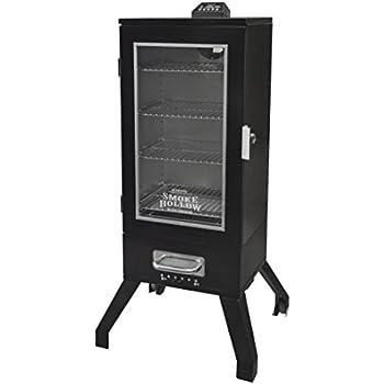 Smoke Hollow 3616DEW   36-Inch Digital Electric Smoker with Window, Black