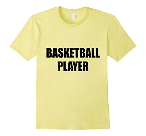 Mens Basketball Player Shirt Halloween Costume Funny Distressed Large Lemon