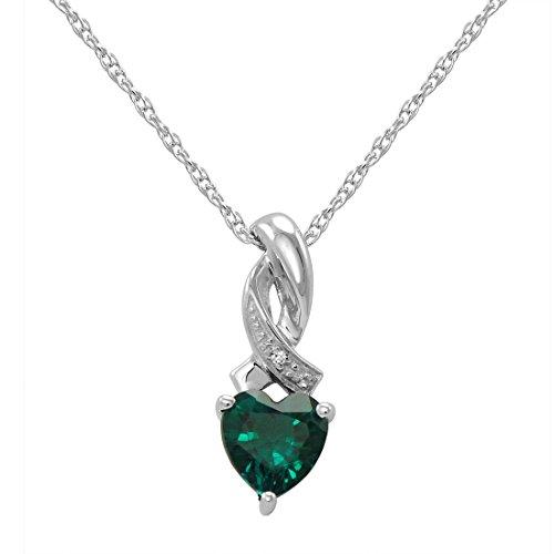 Diamond & Emerald Necklace - 8