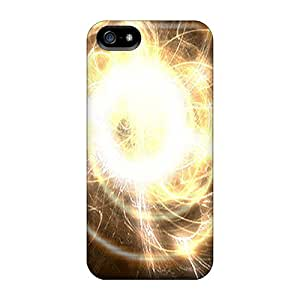High-quality Durability Case For Iphone 5/5s(circle Of Lights)
