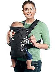 Chicco - Ergonomische Draagzak EasyFit - Eenvoudige Draagdoek - Hoofdsteun en Neksteun - Vanaf Geboorte tot 9 kg - Zwart
