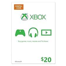 Xbox $20 Gift Card - Digital Code