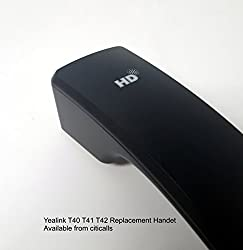 Yealink T41t42-handset Replacement Spare Handset For T40 T40p T41p T42g Phone