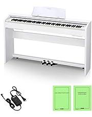 Casio Privia Digital Pianos White Color,88 Hammer Action Keys,19 Tones,60 Tunes PX-770WEC2