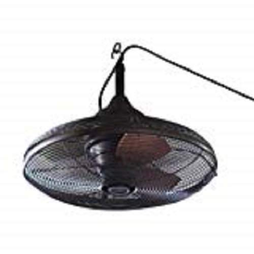 Allen + Roth 20-in Valdosta Dark Oil Rubbed Bronze Outdoor Ceiling Fan ()