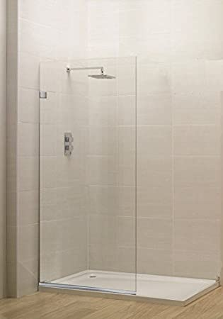 Celesta Series SR910 Fixed Glass Bathtub Shower Screen 24 X 76 Inches