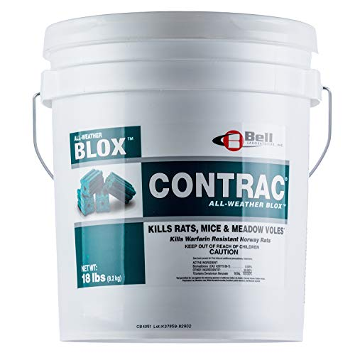 Contrac All-Weather rat bait Blox