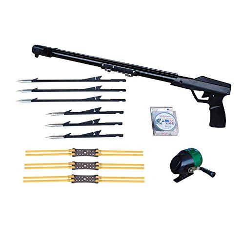 Smarty Outdoor Hunting Shooting Fishing Catapult with Fishing Harpoon and Fishing Reel Fly Fishing Rod Spear Gun