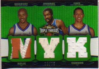 2006-07 Topps Triple Threads Relics Combos Emerald for sale  Delivered anywhere in USA