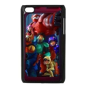 iPod Touch 4 Case Black Big Hero JSK757180