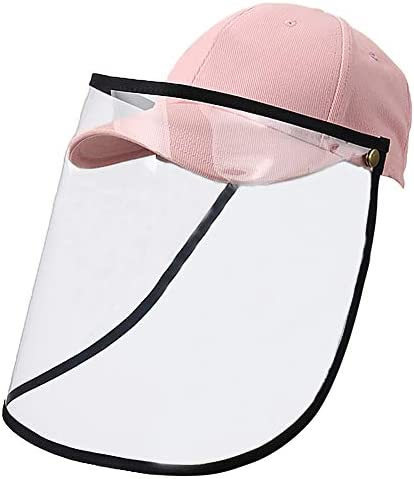 Lantch Safety Schutzvisier doppelseitige Gesichtsschutz Visier Augenschutz Sonnenhut 1PC, X-Black