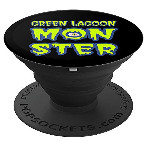 (Slimey Letters Scary Monster Halloween - PopSockets Grip and Stand for Phones and)