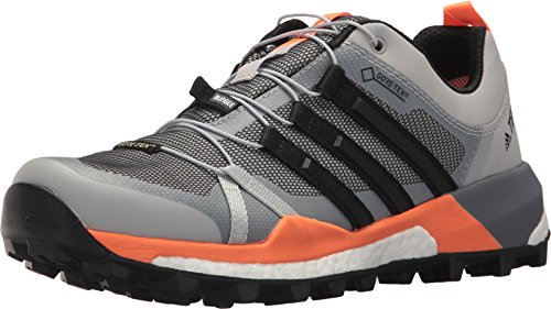 adidas outdoor Women's Terrex Skychaser GTX Grey Two/Black/Hi-Res Orange 9 B US