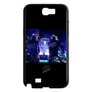 Daft Punk On Stage Samsung Galaxy N2 7100 Cell Phone Case Black&Phone Accessory STC_085954