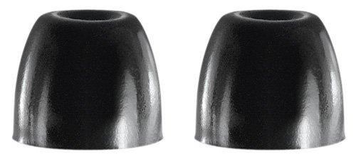 Shure EABKF1-100L Black Foam Sleeves Eartips for SE Series, Bulk 100 Pack (50 Pairs) Large