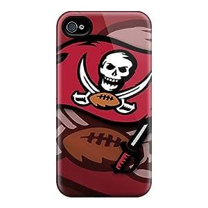 New Hard Case Premium Iphone 4/4s Skin Case Cover(tampa Bay Buccaneers)