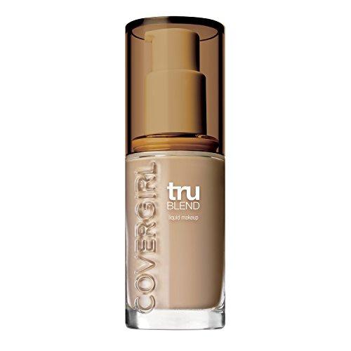 COVERGIRL truBlend Liquid Foundation Makeup Perfect Beige M6, 1 oz