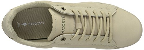low shipping online outlet how much Lacoste Men's Carnaby EVO Sneakers Lt Tan Nubuck online Shop good selling for sale EYWIdb