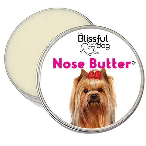 The Blissful Dog Yorkshire Terrier Unscented Nose Butter, 1-Ounce