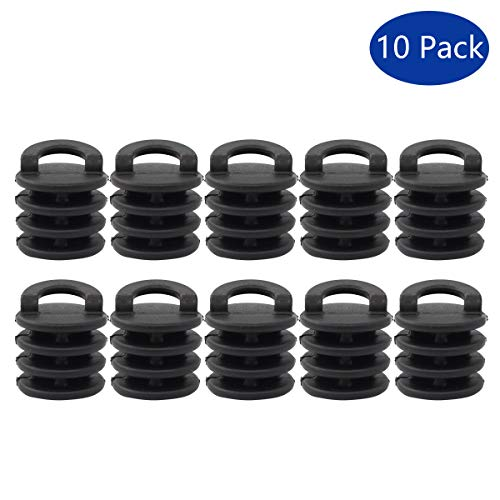 - XtremeAmazing Pack of 10 Kayak Marine Boat Scupper Stoppers Plugs Bungs Replacement for Kayak Canoe Boat Drain Holes