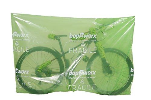 Bopworx Heavy Duty Bicycle Polythene Travel Bag - Ideal Cover For Bike Transportation and Storage by Bopworx (Image #5)