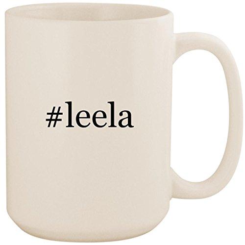 Leela Costumes Doctor Who - #leela - White Hashtag 15oz Ceramic