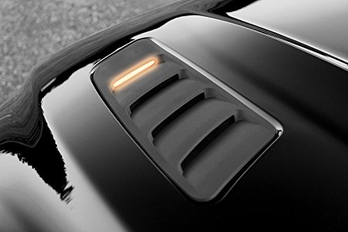 - 2015-2017 Turn Signal Hood Lighting Kit - Amber LED's - Fits Ford Mustang