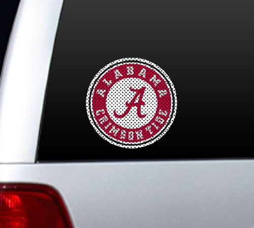 NCAA Alabama Crimson Tide Large Window Film, 12