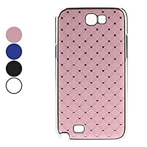 Starry Sky Pattern Hard Case with Diamond for Samsung Galaxy Note 2 N7100 (Assorted Colors) , Pink
