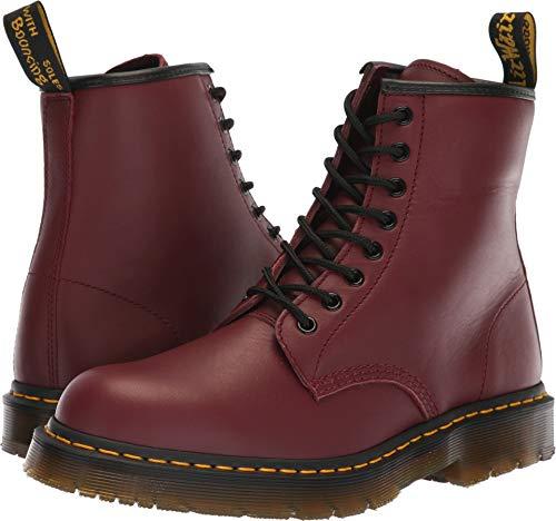 Dr. Martens Work Unisex 1460 SR 8-Tie Boot Cherry Red 7 M UK Medium