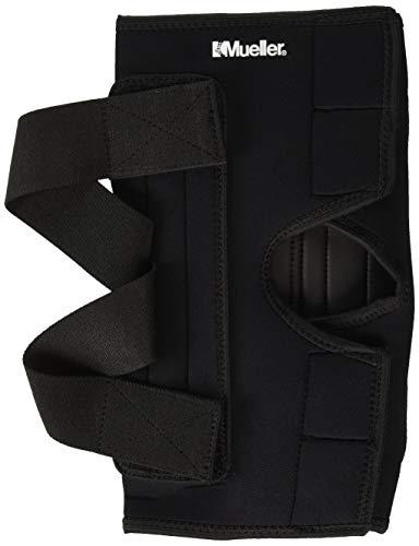 Mueller Wraparound Knee Brace Deluxe Neoprene, Medium Black