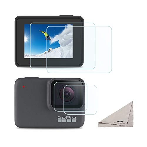 Deyard Screen Protector for GoPro Hero 7 White GoPro Hero 7
