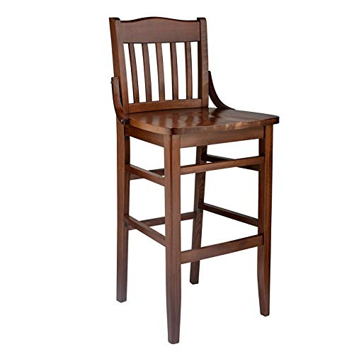 (Beechwood Mountain Schoolhouse Barstool Medium Oak)