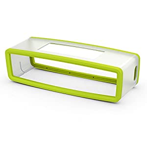 GoAee TPU Gel Soft Case Pouch Box Cover Compatible for Bose SoundLink Mini Bluetooth Speaker (Green)
