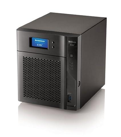 Lenovo NAS EMC px4-400d 70CJ 4TB **New Retail**, 70CJ9000EA (**New Retail** SATA 6Gb/s - HD 1 TB x 4 - RAID 0 , 1 , 5 , 10 , JBOD , 5 hot spare Gigab. (Nas Drive Lenovo)
