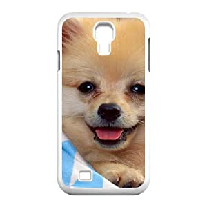 Personalized Case for SamSung Galaxy S4 I9500 - Lively dog ( WKK-R-82770 )