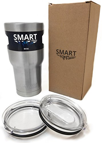 Amazon.com: Tumbler 30 Oz - Smart Coolers - Double Wall Stainless ...