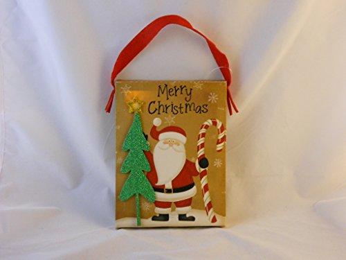 Christmas Santa Light up Hanger