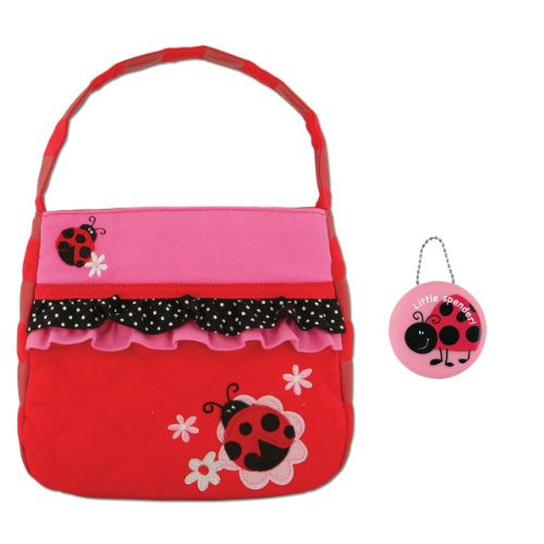 Stephen Joseph Quilted Ladybug Purse and Coin Holder for Little Girls (Quilted Ladybug)