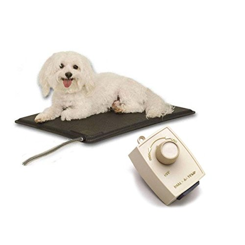 K Amp H Lectro Kennel Heated Pad With Free Fleece Cover And
