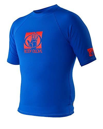 - Body Glove Men's Basic Short Arm Rashguard, Royal, Medium (Renewed)