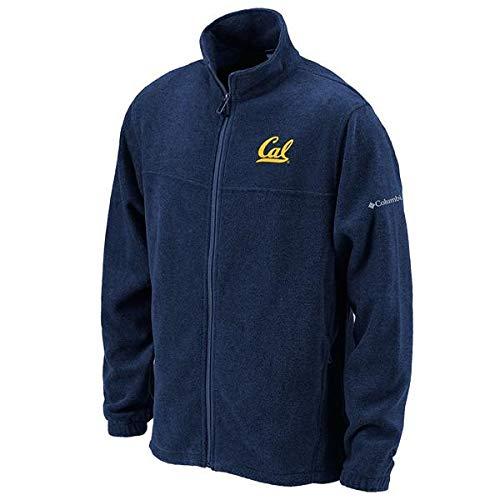 Shop College Wear University of California Berkeley Cal Columbia Flanker Full Zip Mens Fleece Jacket -