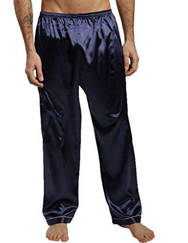 mens silk pajama pants - 8