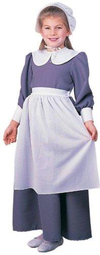 Pilgrim Girl Costume - Medium (2)