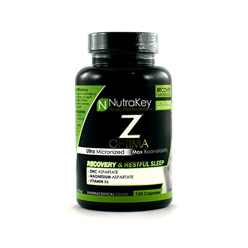 Nutrakey Z Optima Capsules, 120 Count (Pack of 2) (Packaged by PMBundles)