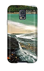 Jennifer Guelzow's Shop Galaxy S5 Chapel Beach Lake Superior Tpu Silicone Gel Case Cover. Fits Galaxy S5